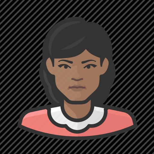 avatar, face, female, person, woman icon
