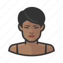 avatar, face, female, person, woman icon