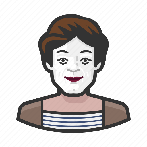 avatar, man, marceau, marcel, mime, people, person icon