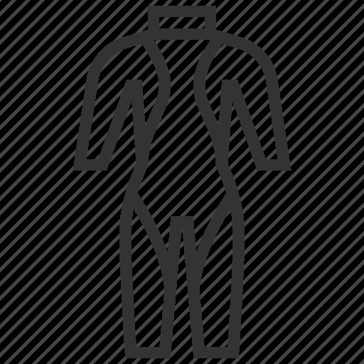 diving, marine, watersport, wetsuit icon