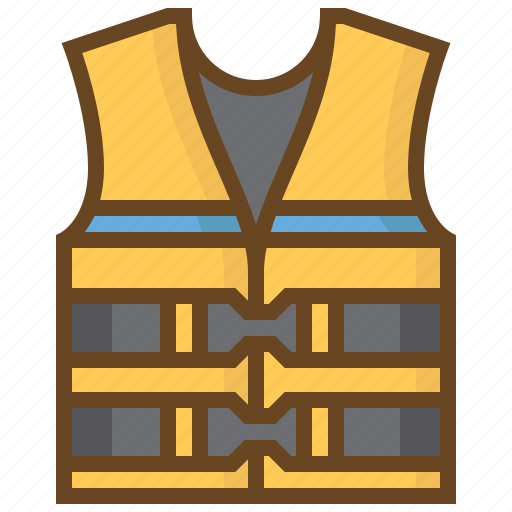 clothes, diving, lifejacket, marine, swimming, watersport, wear icon