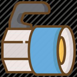 diving, flashlight, marine, swimming, watersport icon