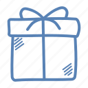 birthday, christmas, diwali, gift, new year, pack, present icon
