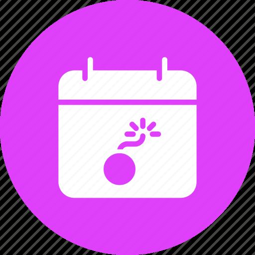 calendar, celebrate, date, diwali, event, festival, fireworks icon