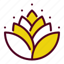 diwali, hindu, holy, leaves, lotus, mango, religion icon