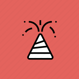 celebrate, crackers, diwali, festival, fireworks, flowerpot, sparkle icon