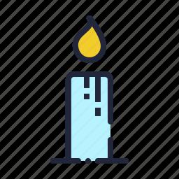 candle, christmas, diwali, easter, lamp, light, wax icon