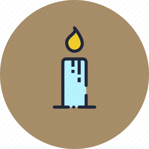 candle, christmas, diwali, easter, lamp, light, wax icon