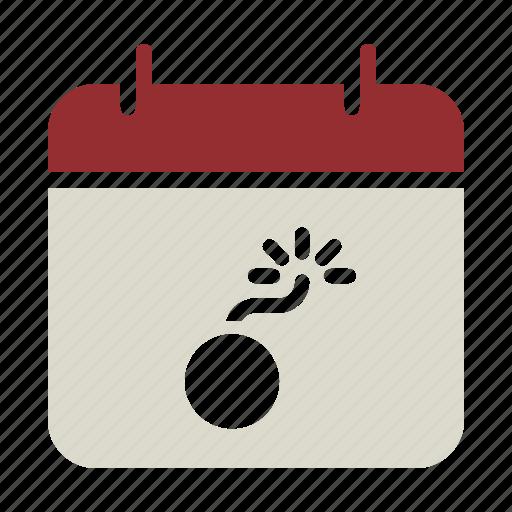 Calendar, celebrate, date, diwali, event, festival, fireworks icon - Download on Iconfinder