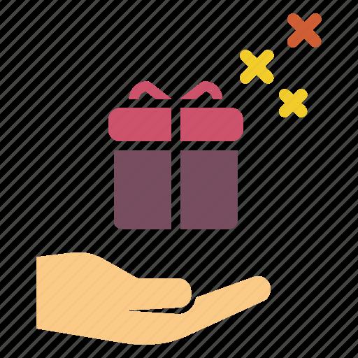 birthday, christmas, diwali, gift, pack, present icon