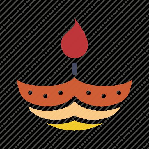 Celebrate, deepam, deepavali, diwali, festival, lamp, light icon - Download on Iconfinder