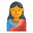 female, hindu, indian, oriental, person, tradition, woman