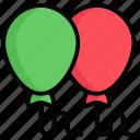 balloons, celebration, party, decoration, balloon, birthday