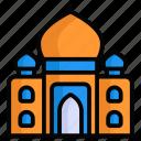 taj mahal, landmark, architecture, building, agra, indian, traditional