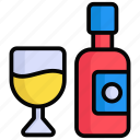 wine, drink, alcohol, glass, bottle, champagne, party