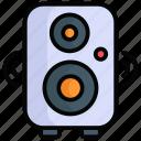 speaker, loudspeaker, announcement, sound, volume, loud, voice