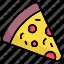 pizza, junk-food, fast-food, italian, food, slice, fast