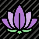 diwali, faith, hindu, india, lotus icon