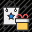 gift, offer, sale, shopping