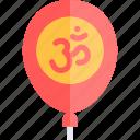 balloon, diwali, faith, hindu, india icon