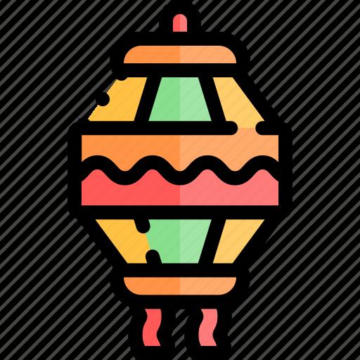 diwali, faith, hindu, india, lantern icon