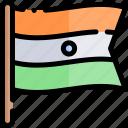 diwali, faith, flag, hindu, india icon