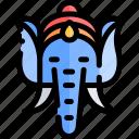 diwali, faith, ganesha, hindu, india icon