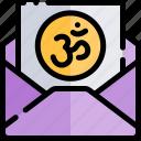 card, diwali, faith, greeting, hindu, india icon