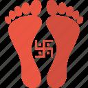diwali, festival, godess, hindu, indian, laxmi, swastik icon