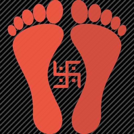 Diwali, festival, godess, hindu, indian, laxmi, swastik icon - Download on Iconfinder