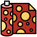 wrapping, paper, present, gift, miscellaneous icon