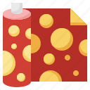 present, paper, wrapping, miscellaneous, gift icon