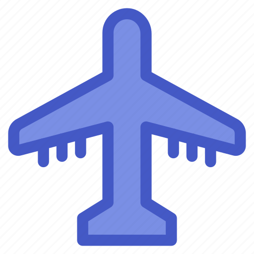 airport, holiday, plane, travel, vacation icon
