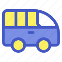 car, holiday, transportation, travel, vacation, van, vehicle icon