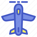 airforce, airplane, holiday, plane, travel, vacation icon