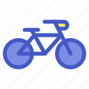 bicycle, holiday, transportation, travel, vacation icon