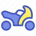 holiday, motorcycle, transportation, travel, vacation, vehicle icon