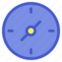 compass, direction, holiday, travel, vacation icon