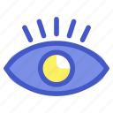 eye, holiday, sight, travel, vacation icon