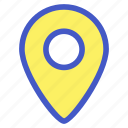 holiday, location, map, place, travel, vacation icon