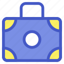 bag, briefcase, holiday, luggage, travel, vacation icon