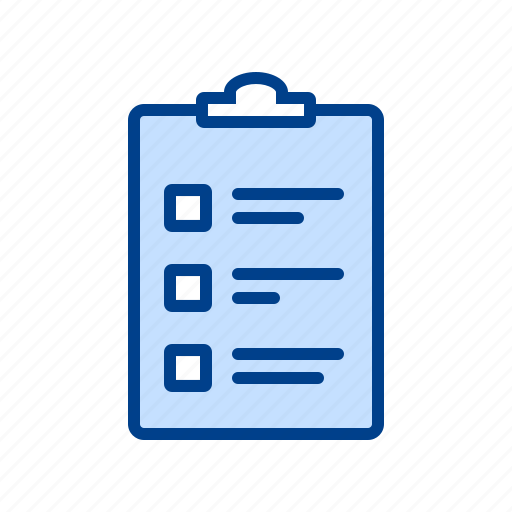 checkbox, doc, file, form, page icon