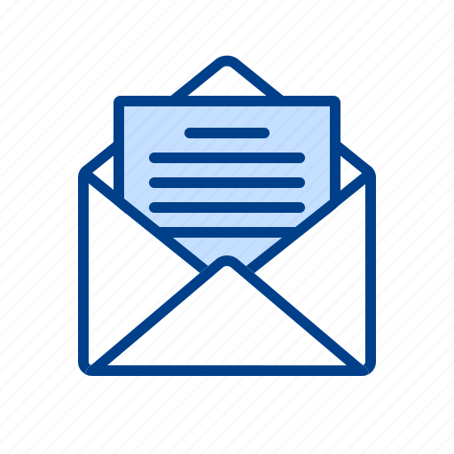 email, inbox, letter, mail, open, post, send icon