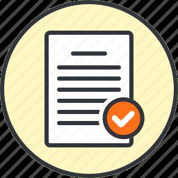 accept, approve, check, checkmark, done, good, success icon