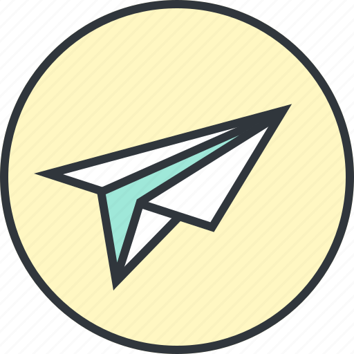 Airplane, mail, plane, send icon - Download on Iconfinder