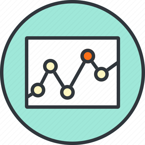 analytics, chart, diagram, graph, statistic, statistics icon