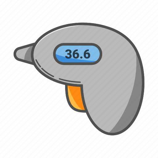 doctor, health, hospital, measurement, medical, thermometer icon