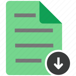 archive, document, download, file, files, note icon