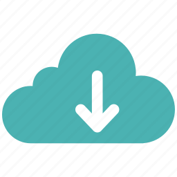 cloud, document, download, file, guardar, note, save icon