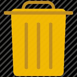document, file, note, rubbish, trash icon